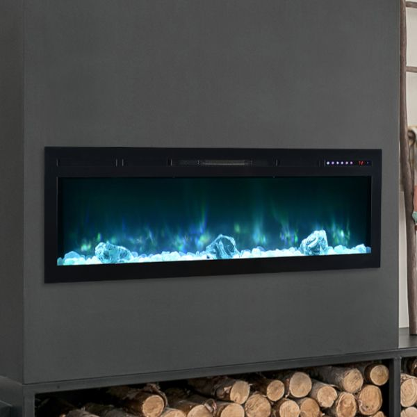 "Modern Flames Spectrum Linear Recessed Electric Fireplace - 50"" image number 0"
