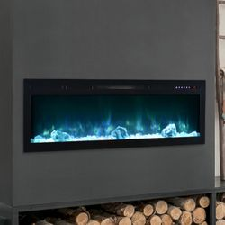 """Modern Flames Spectrum Linear Recessed Electric Fireplace - 50"""""""