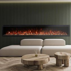 "Modern Flames Spectrum Slimline Electric Fireplace - 100"""