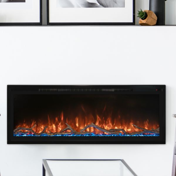 "Modern Flames 50"" Spectrum Slimline Electric Fireplace image number 0"