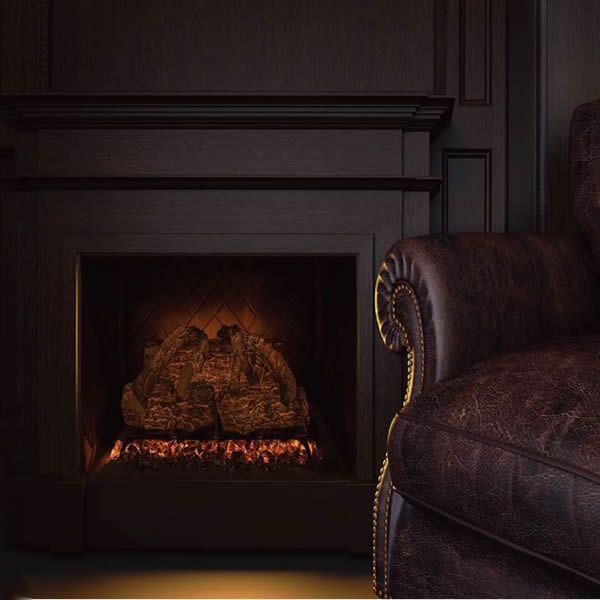 Modern Flames Sunset Charred Oak Electric Log Set image number 0