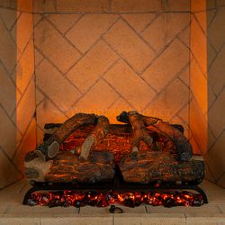 Modern Flames Sunset Charred Oak Electric Log Set