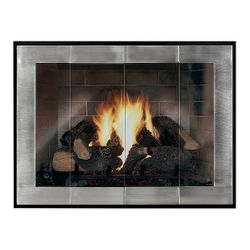 Moderne - Original ZC Fireplace Glass Door