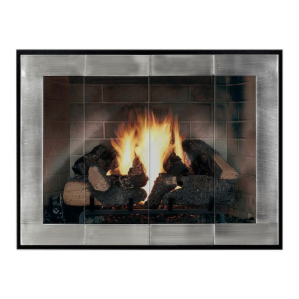 Moderne - Original ZC Fireplace Glass Door image number 0