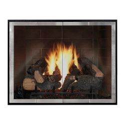 Moderne - Slim ZC Fireplace Glass Door