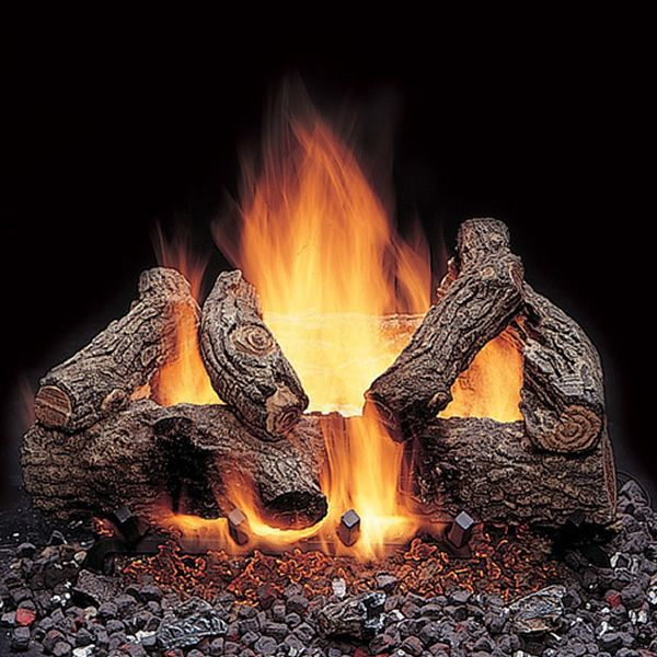 Majestic American Oak Vented Gas Log Set image number 0