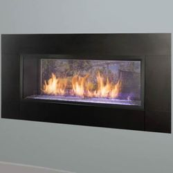 Monessen Artisan Ventless Fireplace See-Through 42""
