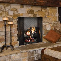 Majestic Ashland Wood Burning Fireplace - 42""