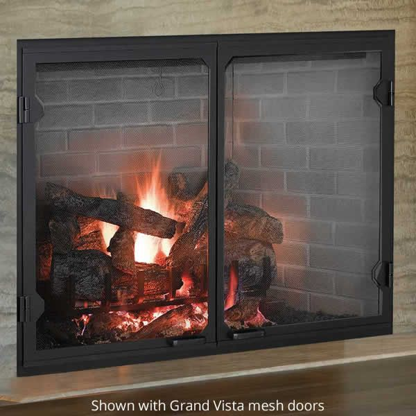Majestic Biltmore Wood Burning Fireplace image number 2