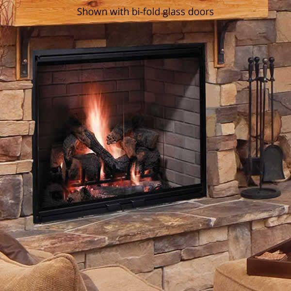 Majestic Biltmore Wood Burning Fireplace image number 3