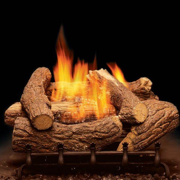 Monessen Mountain Cedar Ventless Gas Log Set image number 0