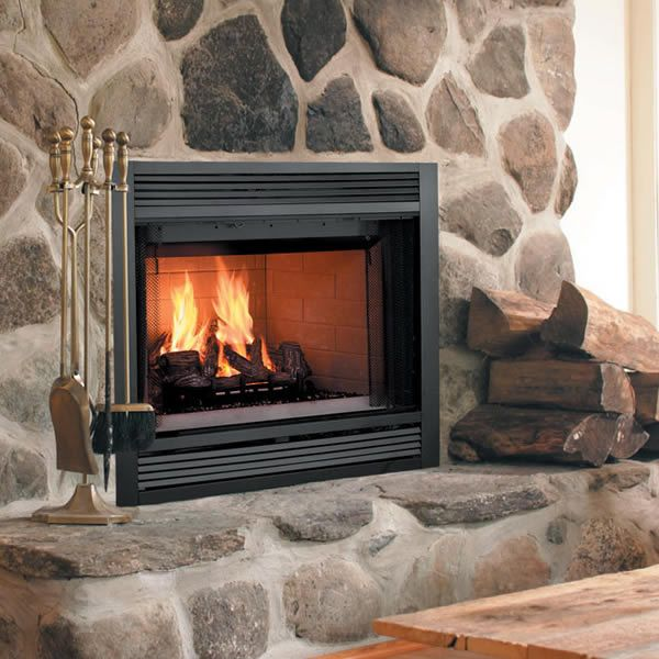 Majestic Sovereign Heat Circulating Wood Burning Fireplace image number 0