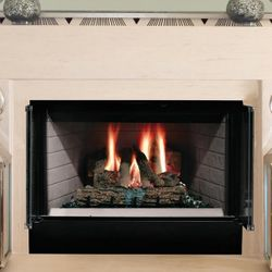 Majestic Sovereign Radiant Wood Burning Fireplace