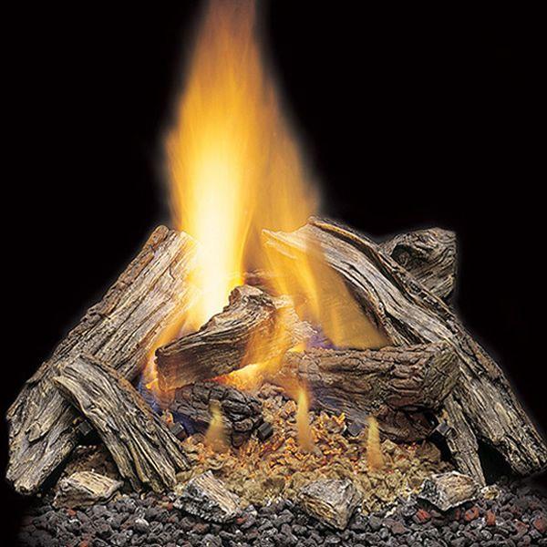 Majestic Split River Oak Vented Gas Log Set image number 0