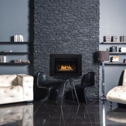 Montigo 34FID Direct Vent Gas Fireplace Insert- Contemporary