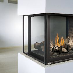 Montigo H38DFPFC Peninsula Direct Vent Gas Fireplace