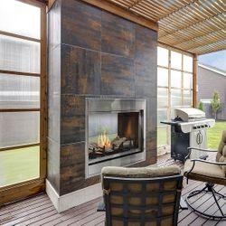 Montigo Divine H38SVO ST Ventless Outdoor Gas Fireplace