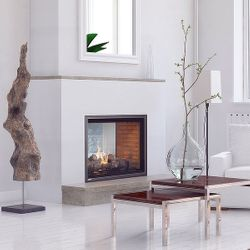 Montigo H42FSD See Through Direct Vent Gas Fireplace