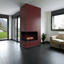 Montigo HL38DFCL/CR Corner Direct Vent Gas Fireplace