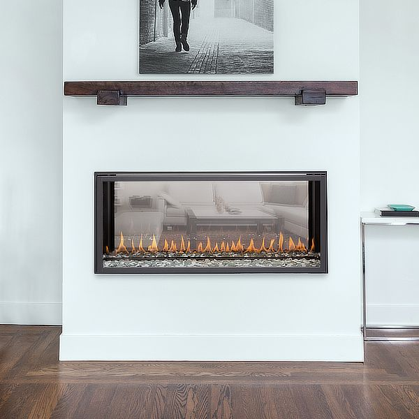 Montigo R320 See Through Direct Vent Linear Gas Fireplace image number 0