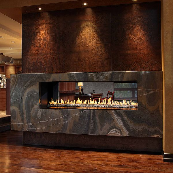 Montigo R620 See Through Direct Vent Linear Gas Fireplace image number 0
