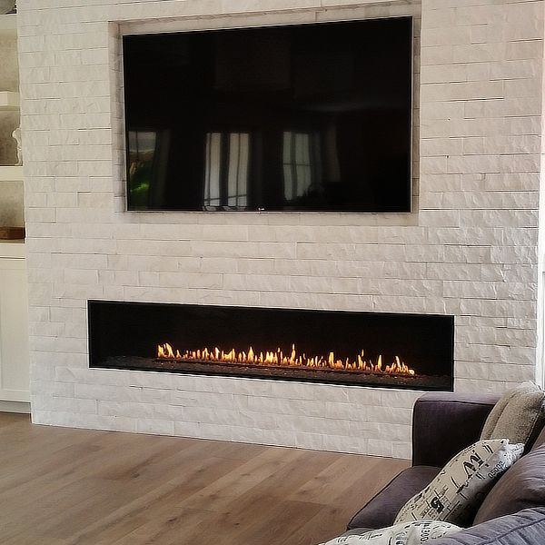 Montigo R820 Direct Vent Linear Gas Fireplace image number 0