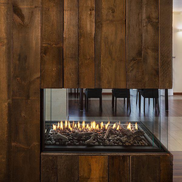 Montigo RP424PFC Premium Peninsula Direct Vent Gas Fireplace image number 0
