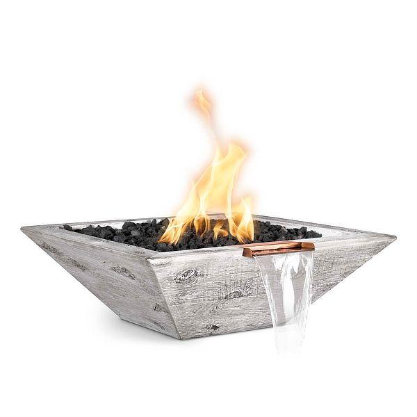 Maya Wood Grain Fire & Water Bowl image number 0