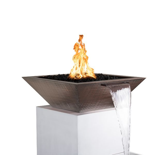 Maya Copper Fire & Water Bowl image number 0