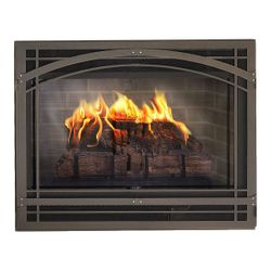 Madrid Steel Direct Vent Fireplace Front