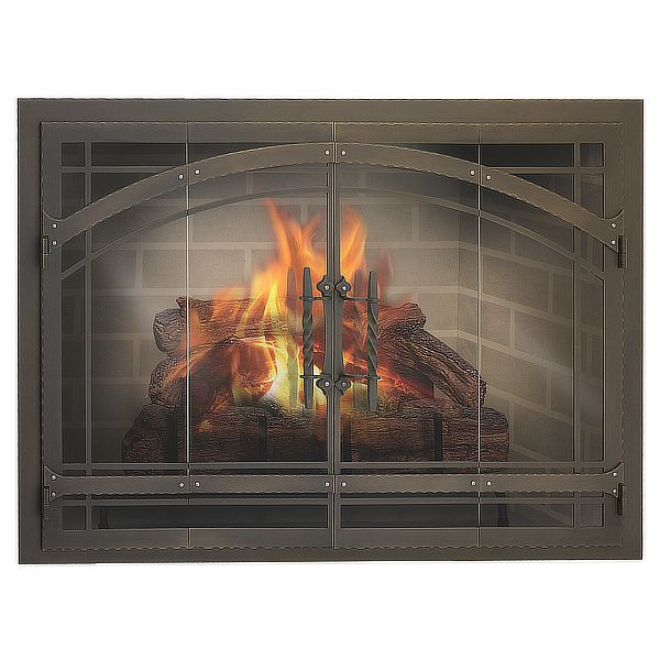 Madrid ZC Fireplace Glass Door image number 0