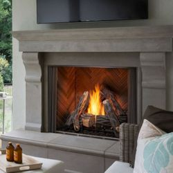 """Majestic Courtyard Outdoor Gas Fireplace - 36"""""""