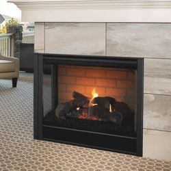 Majestic Corner Direct Vent Gas Fireplace - 36""
