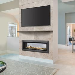 """Majestic Echelon See Through Direct Vent Gas Fireplace - 48"""""""
