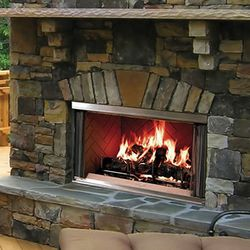Majestic Montana Outdoor Wood Fireplace - 42""