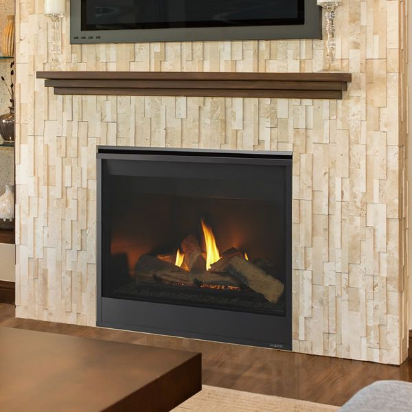 "Majestic Meridian Direct Vent Gas Fireplace - 42"" image number 0"