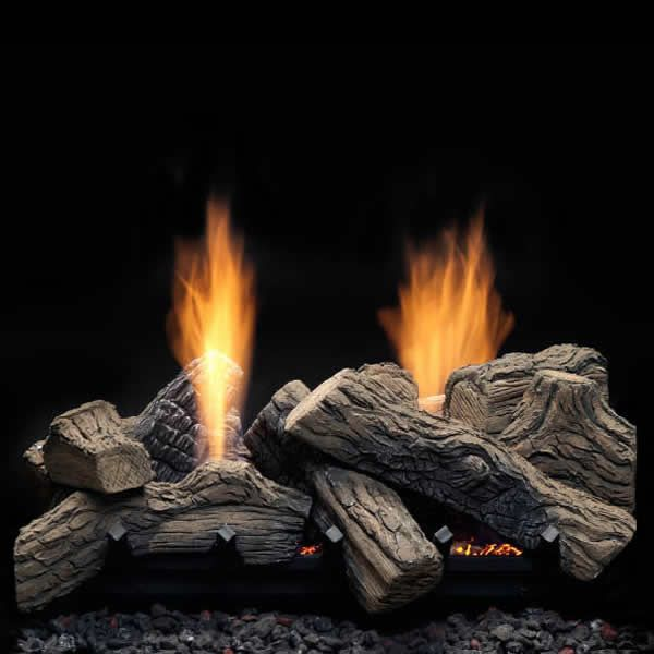 "Monessen Natural Blaze Ventless Gas Log Set - 27"" image number 0"