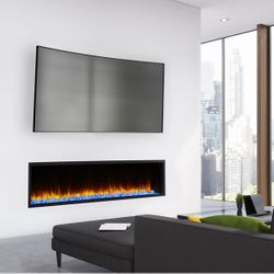 Majestic SimpliFire Scion Linear Electric Fireplace - 78""