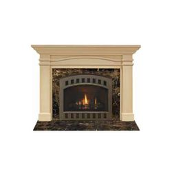 Majestic Portico Flush Fireplace Mantel