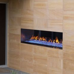 Majestic Palazzo Outdoor See-Through Gas Fireplace - 48""