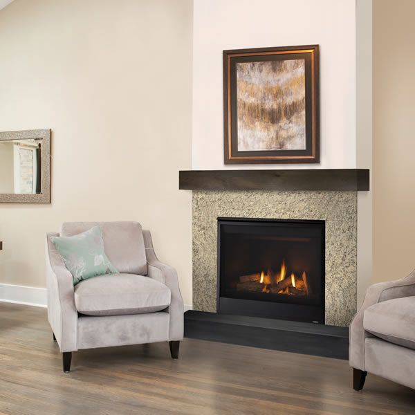 "Majestic Quartz Direct Vent Gas Fireplace - 36"" image number 0"