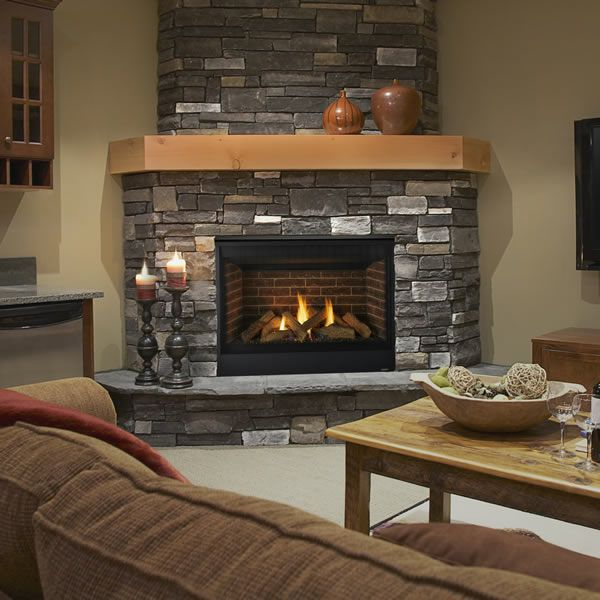 "Majestic Quartz Direct Vent Gas Fireplace - 42"" image number 0"
