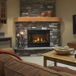 """Majestic Quartz Direct Vent Gas Fireplace - 42"""""""