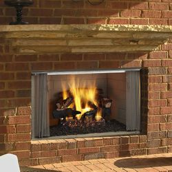 Majestic VillaWood Outdoor Fireplace - 42""