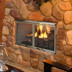 "Majestic Villa Gas Outdoor Fireplace - 42"""