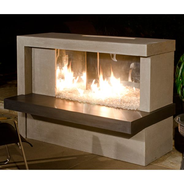 Manhattan Linear Outdoor Gas Fireplace image number 0