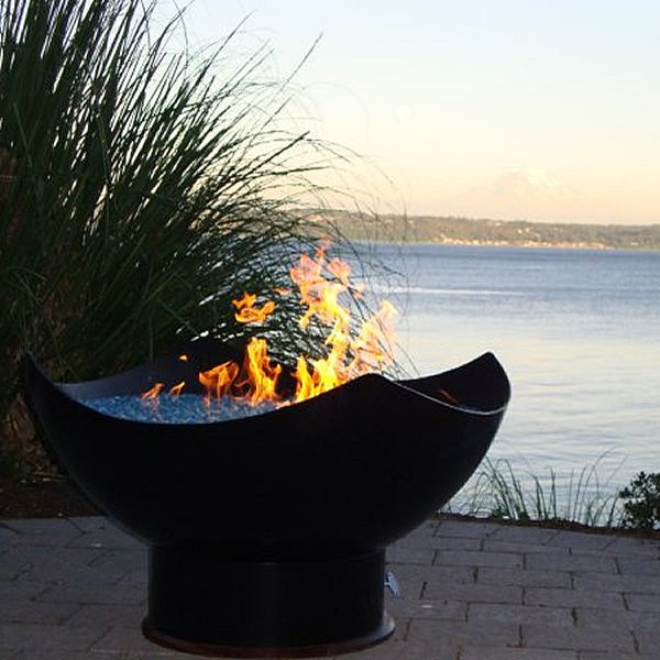 Manta Ray Gas Fire Pit image number 3
