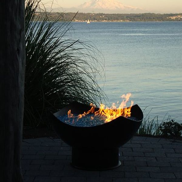 Manta Ray Gas Fire Pit image number 4