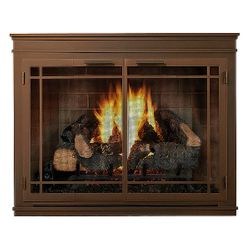 Mantel ZC Fireplace Glass Door