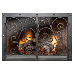 Marcos Fireplace Door